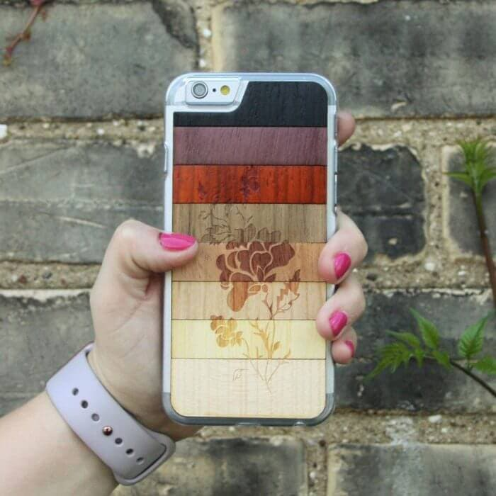 flowerfade-wooden-phonecase